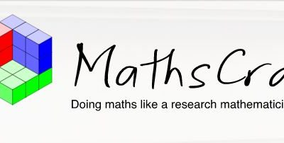 Free webinar – Doing maths like a research mathematician
